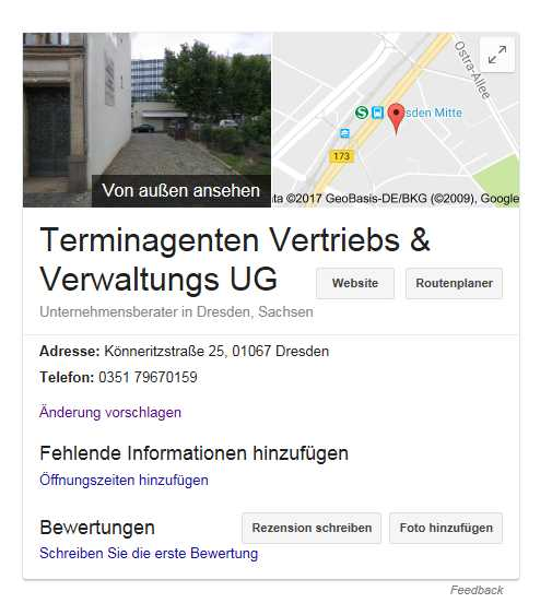 Local SEO mit Google Maps